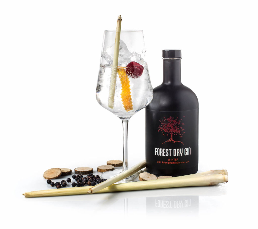 Forest Dry Gin Winter perfect serve