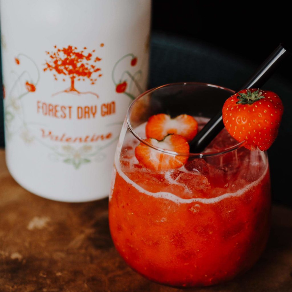Forest Dry Gin Valentine Recipe